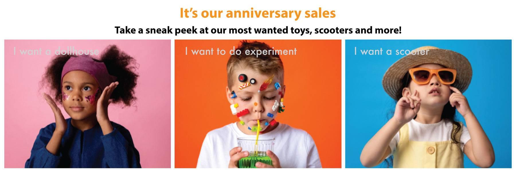 Anniversary Sales 2021