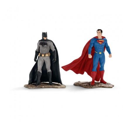 Schleich  Batman v Superman Scenery Pack Figurines