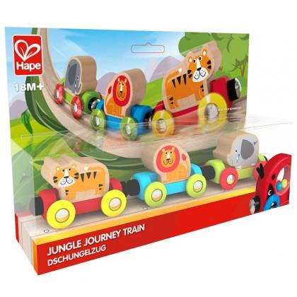 Hape 3807 Jungle Journey Train