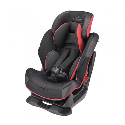 Ailebebe Swing Moon Premium S Car Seat for Group 1/2/3 (9-25kg) ~ Carbon Red