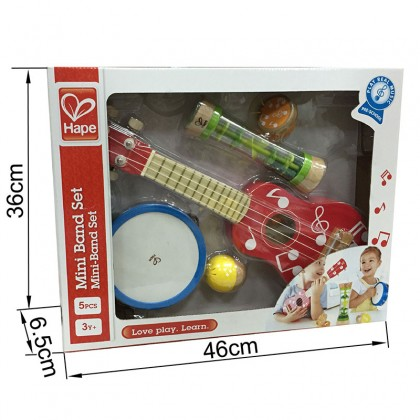 Hape 0339 Mini Band Set Musical Toy