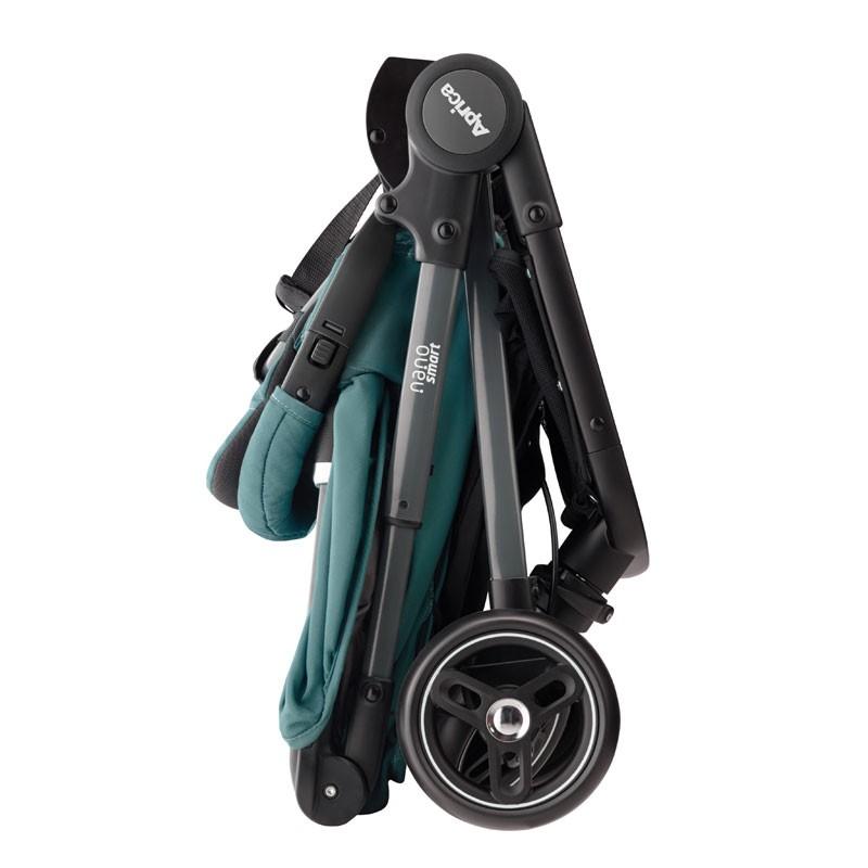 Aprica Nano Smart Plus Cabin Size Stroller ~ Green