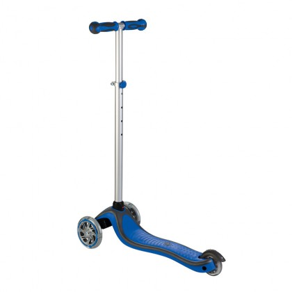 Globber Primo Plus Lights Scooter for 3+ ~ Navy Blue