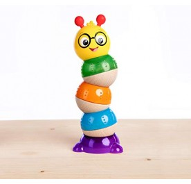 Baby Einstein Balancing Cal Stacking Wooden Toddler Toy