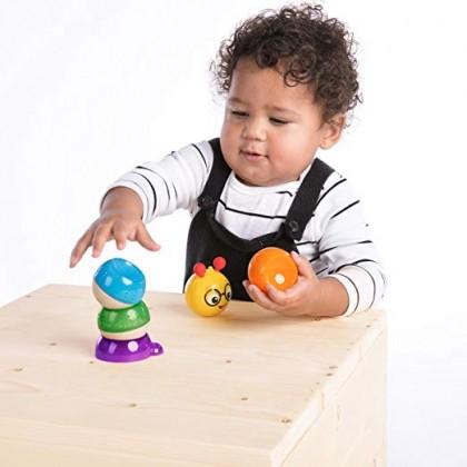 Baby Einstein 11651 Balancing Cal Stacking Wooden Toddler Toy