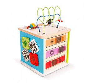 Baby Einstein Innovation Station Wooden Activity Cube