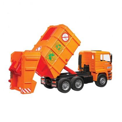 Bruder 02760 MAN Garbage Truck Orange