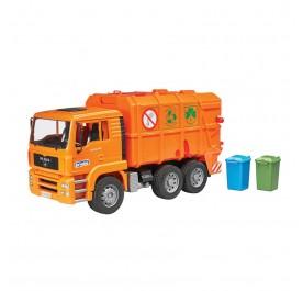 Bruder MAN Garbage Truck Orange