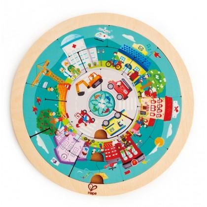Hape Job Roundabout Puzzles