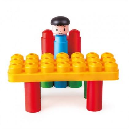 PolyM 760003 Creative Starter Kit Building Blocks