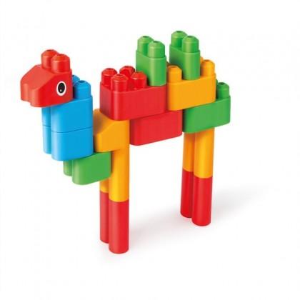 PolyM 760004 Animal Kingdom Building Blocks