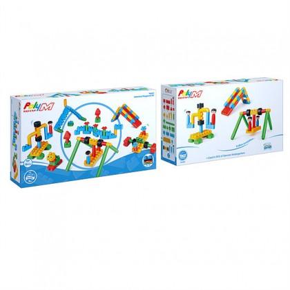PolyM 760011 Adventure Playground Building Blocks Kit