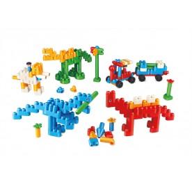 PolyM Dinosaur Paradise Building Blocks  Kit