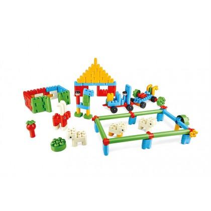 PolyM 760009 Dinosaur Paradise Building Blocks  Kit