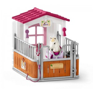 Schleich Horse Stall With Lusitano Mare