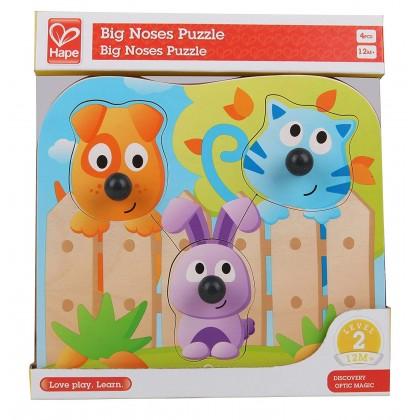 Hape Big Nose Wild Puzzle