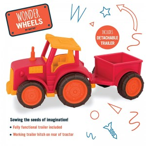 Wonder Wheel Tractor Play Vechicle