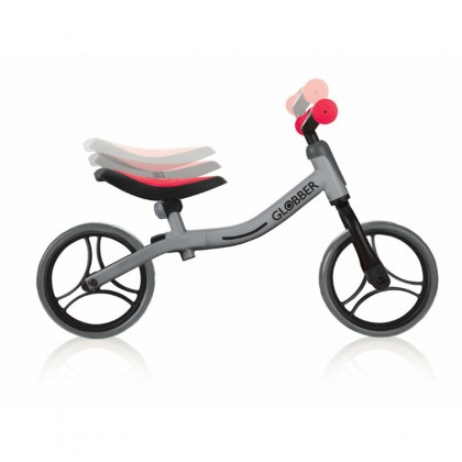 Globber Balancing Bike For Toddler - Red / Silver