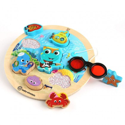 Baby Einstein Submarine Adventure Wooden Puzzle Toddler Toy