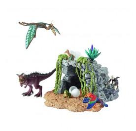 Schleich 42261 Dinosaur Play Set with Cave