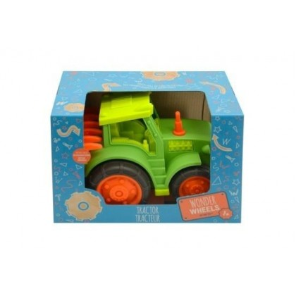 Wonder Wheels 1019 Tractor with Rake Play Vehicle for 1+