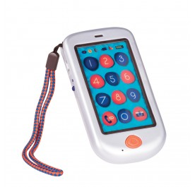 B. Toys Touch Screen Hi Phone - Metalic Silver