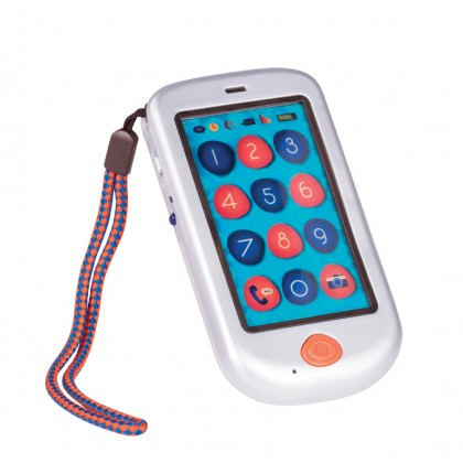 B. Toys Touch Screen Hi Phone - Metalic Silver