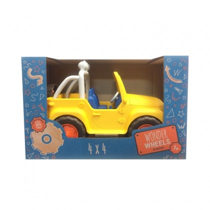 Wonder Wheels 1013 4x4 Yellow Play Vehicle for 1+