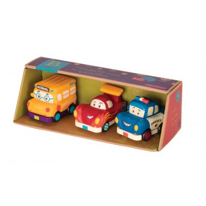 B. Toys Mini Pull Back Vehicles