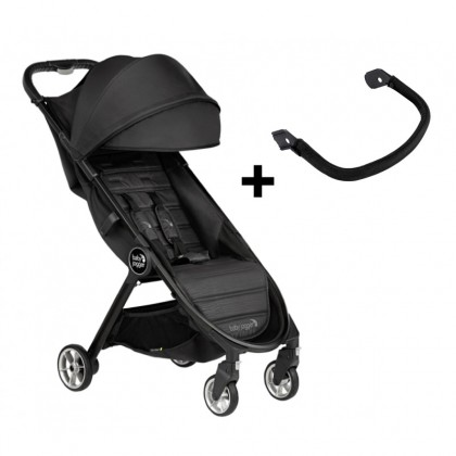 Baby Jogger City Tour 2 Cabin Size Stroller with FREE belly bar (Worth Price RM119.90) for newborn - Jet