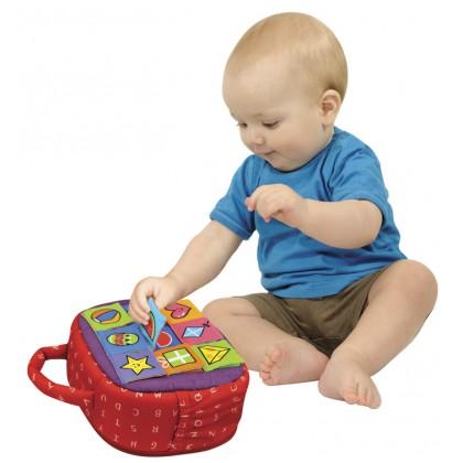 K's Kids 10628 Patrick Shape-A-Boo Activity Toys
