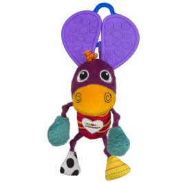 Lamaze Chewy Ears Donkey Teether Toy for Young Toddler
