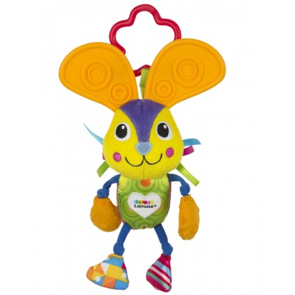 Lamaze Chewy Ears Bunny Teether Toy for Young Toddler