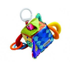 Lamaze Clutch Cube Baby Activity Toy with Teether