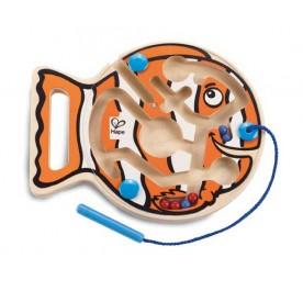 Hape Go Fish Go - Magnetic Bead Maze