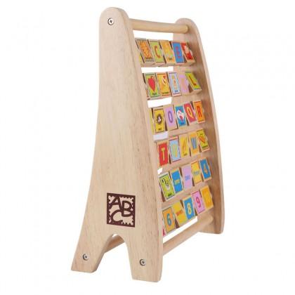 Hape 1002 Alphabet Abacus