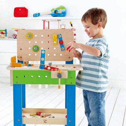 Hape 3000 Master Work Bench Role Play Toy for 3 yeras+