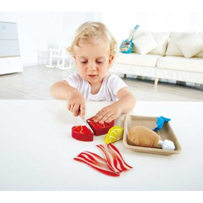 Hape 3155 Tasty Protein 3155 Kitchen Role Play Toy for Kids age 3+