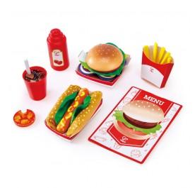 Hape 3160 Fast Food Set