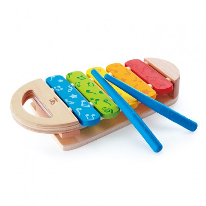 Hape 0606 Rainbow Xylophone Musical Toy for Toddler