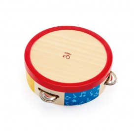 Hape 0607 Tap-a-long Tambourine Musical Toy