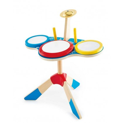 Hape 0613 Drum & Cymbal Set Musical Toy