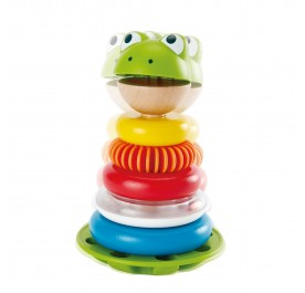 Hape 0457 Mr. Frog Stacking Rings