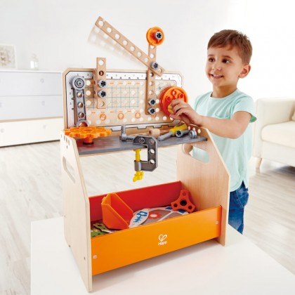 Hape 3028 Discovery Scientific Workbench STEM Toy for Kids age 4+