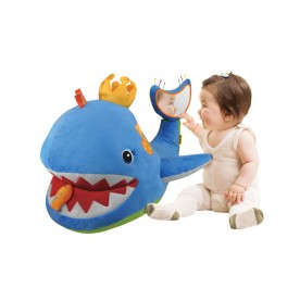 K's Kids Big Blue Whale Activity Toddler Toy