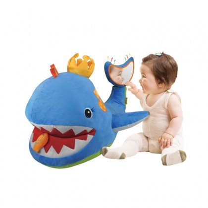 K's Kids KA10682 Big Blue Whale Activity Toddler Toy