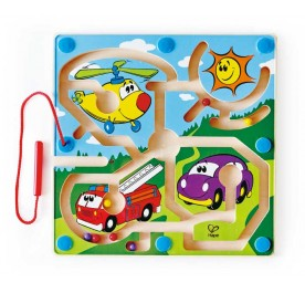 Hape Mighty Motors Finger Training Toy for Toddler