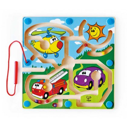 Hape 1703 Mighty Motors Finger Training Toy for Toddler