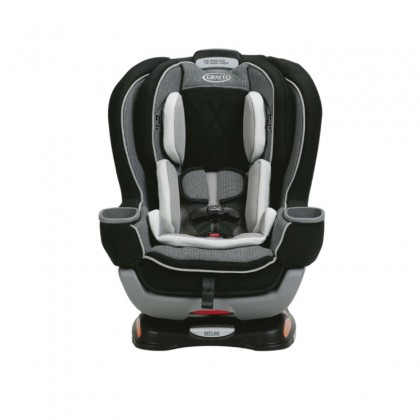 Graco Extend2fit Platinum Convertible Car Seat with EZ Tight Latch for newborn up to 29 kg ~ Carlen