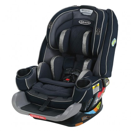 Graco 4ever Extend2fit Platinum All-in-1 Car Seat with EX Tight Latch ~Otilie